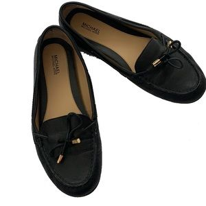 Michael Kors Slip On Leather Loafers Flats 8.5